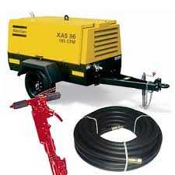 sewa - rental air compressor to jack hammer