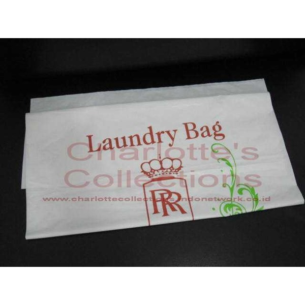 amenities/ laundry bag / kantong cucian / hotel amenities
