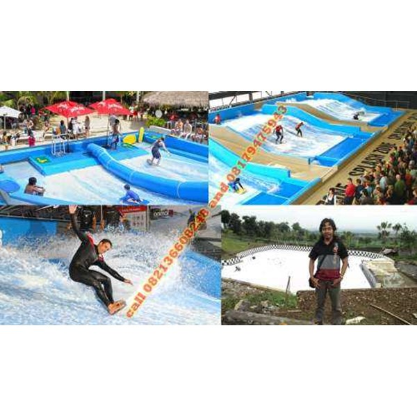 jasa kontraktor flow rider double waterpark
