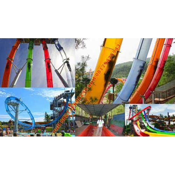 kontraktor waterpark aqualoop waterslide 5