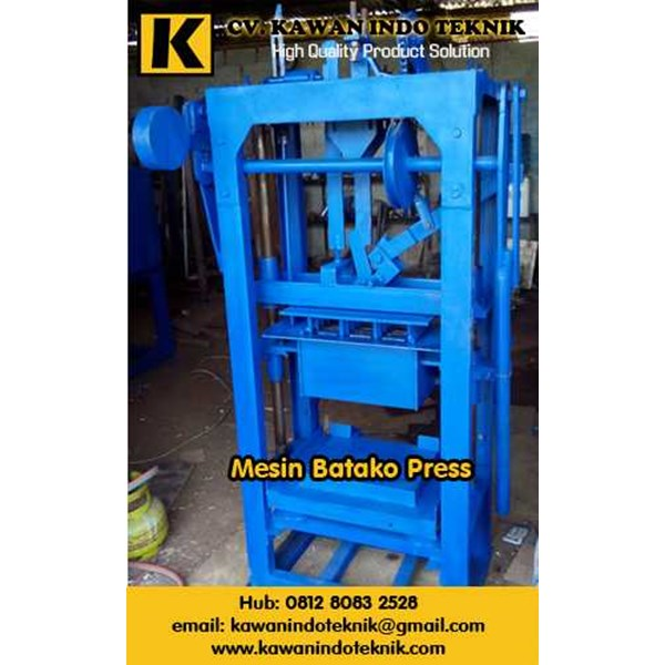 mesin batako press, mesin paving block