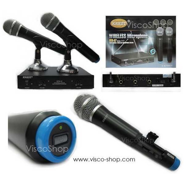 krezt dtd 37 hh microphone wireless handheld