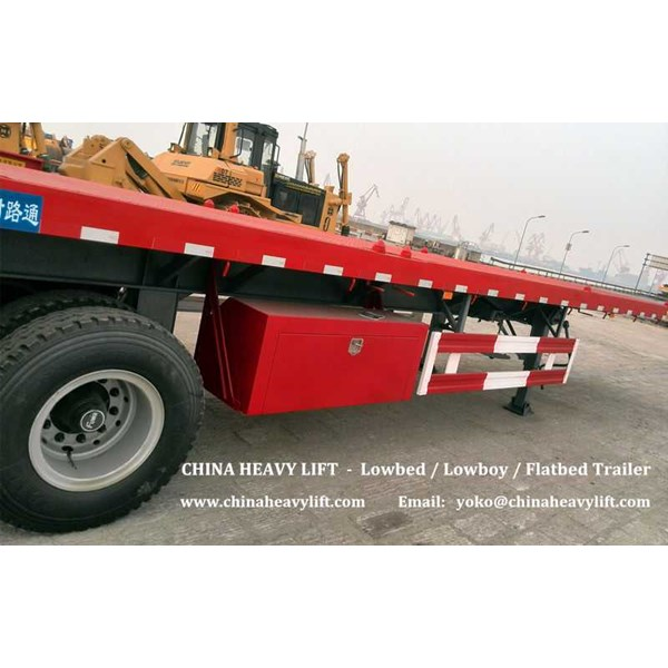CHINA HEAVY LIFT - 2 axle Container Trailer oleh CHINA HEAVY
