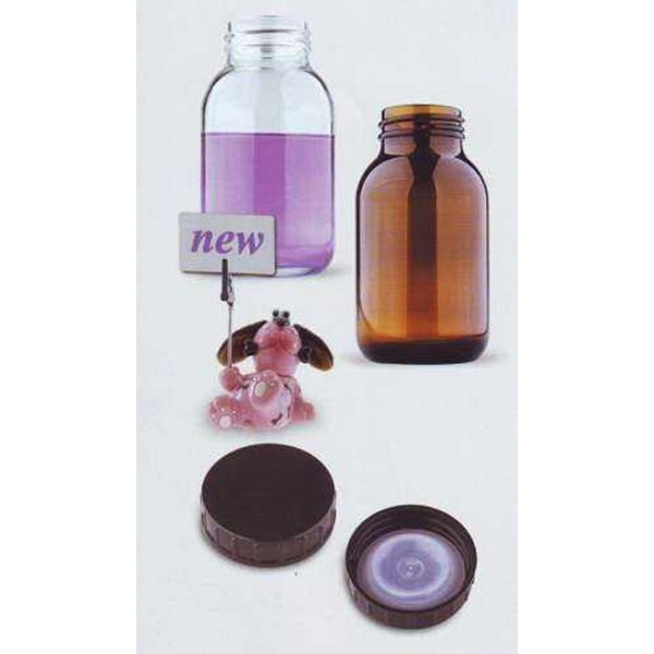 wide neck glass bottles isolab