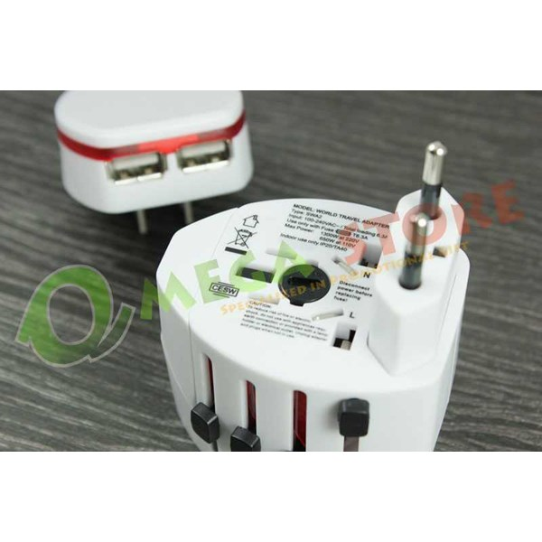 universal travel adapter souvenir tas009