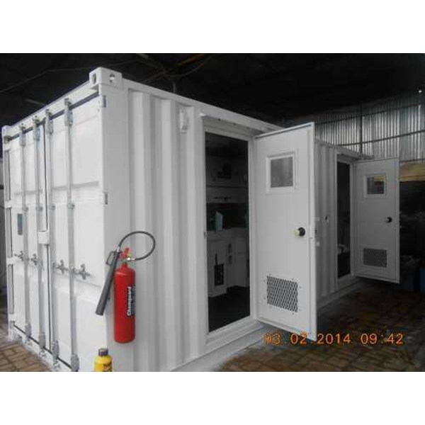 medium voltage panel container