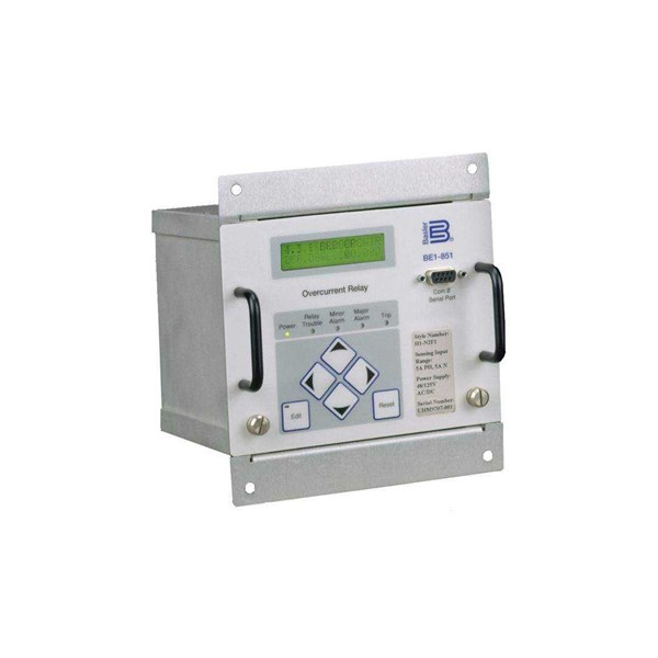 relay be1-851 digital overcurrent protection system-1