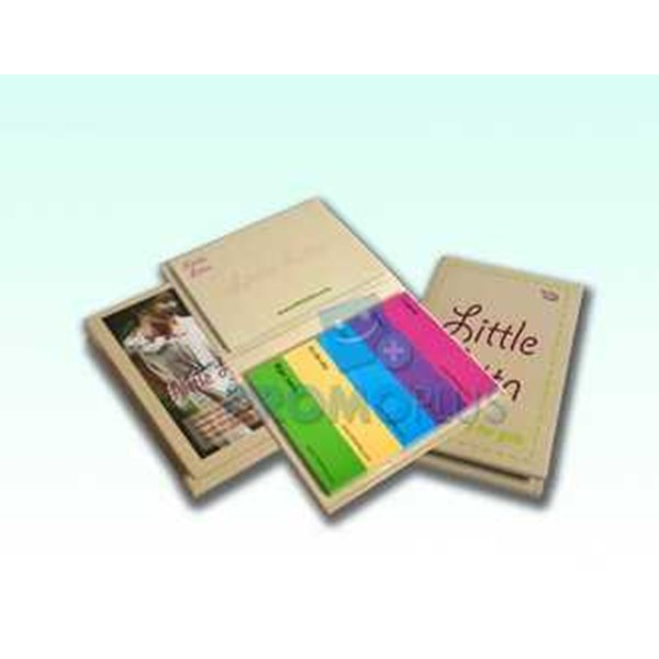 hardcover sticky note ( post it)-1
