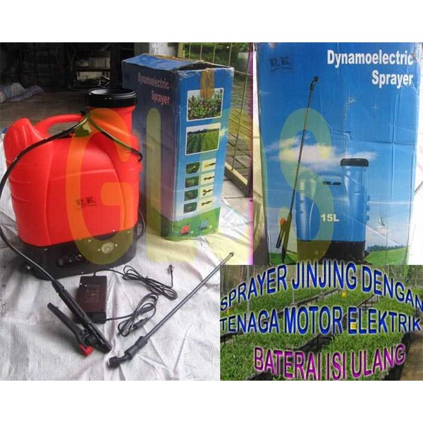 sprayer elektrik
