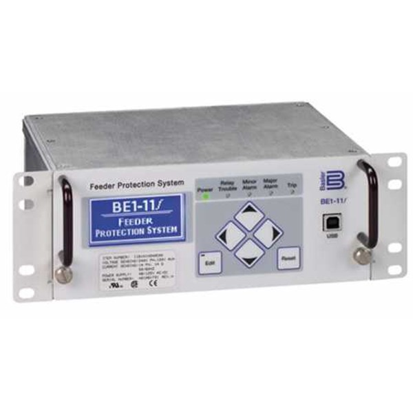 be1-11 feeder protection system (basler electric) relay
