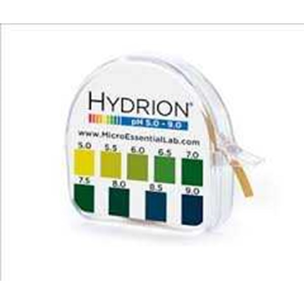 hydrion single roll paper 5.0-9.0 ph test kits