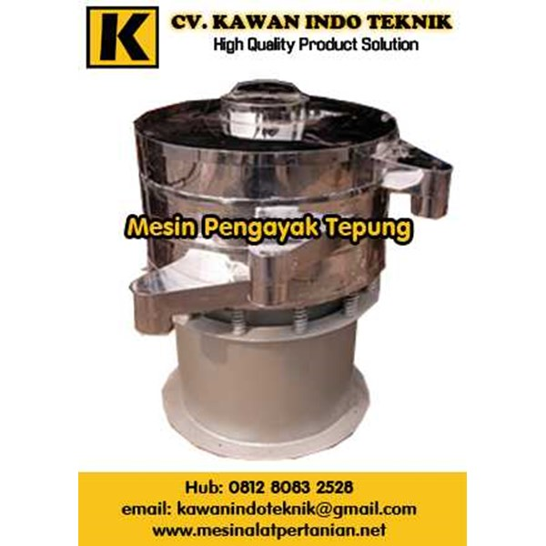 mesin pengayak tepung, mesin pengayak bubuk, mesin pengayak terigu, mesin pengayak, mesin pengayak gula semut, mesin ayakan tepung, ayakan vibration, sieving machine, vibrating sieve machine-1