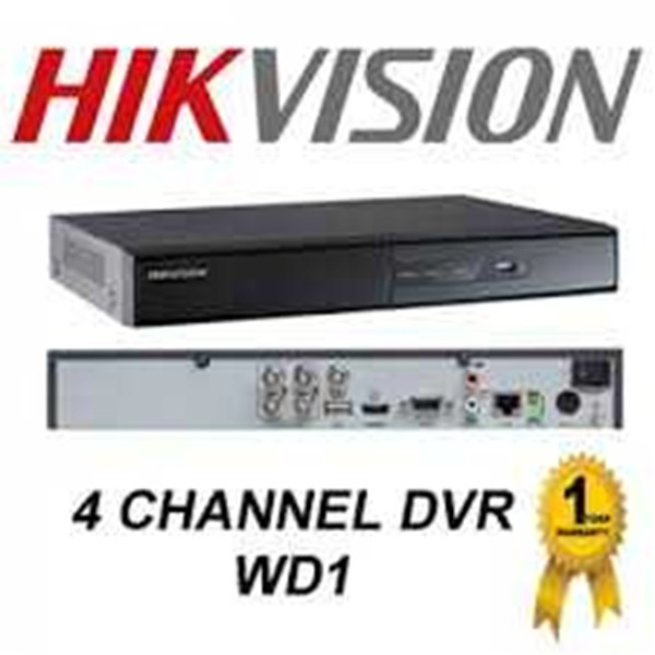 dvr cctv camera 4 channel hikvision