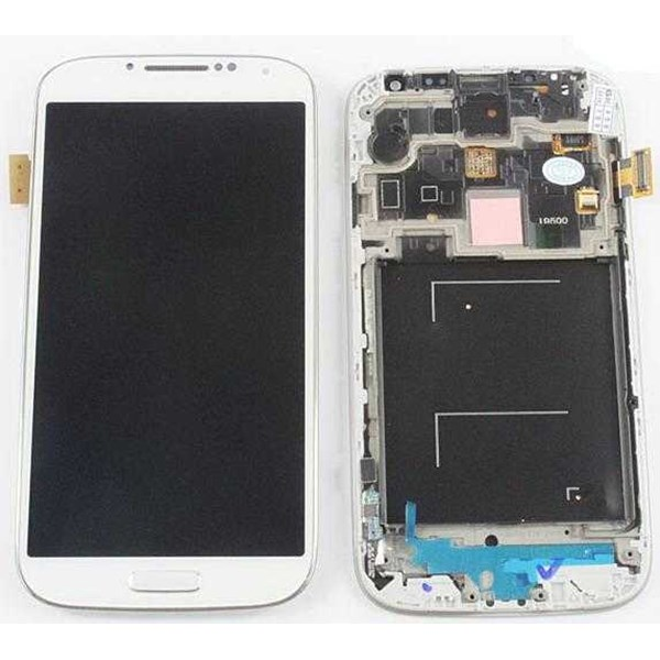 lcd with touch and frame for samsung i9500 display screen assembly