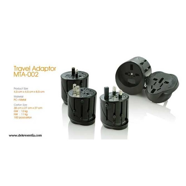 travel adaptor mta-002