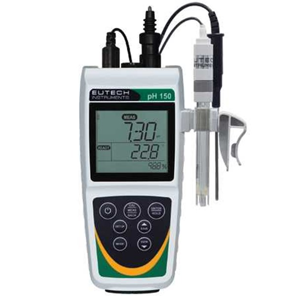 eutech ph 150 waterproof handheld ph meter