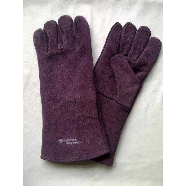 welding gloves 14 suede hight quality-2