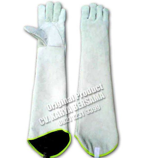 jual welding gloves 28 inch murah