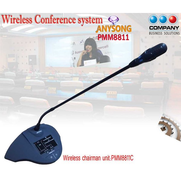 digital wireless conference system pmm8811-2