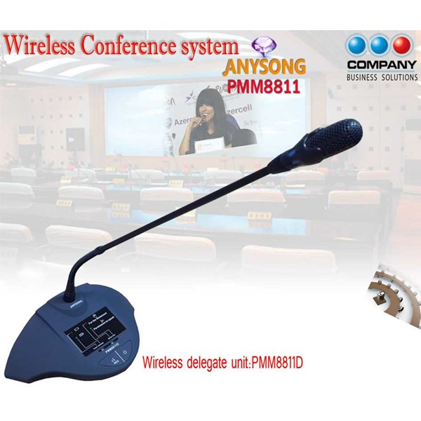 digital wireless conference system pmm8811-3