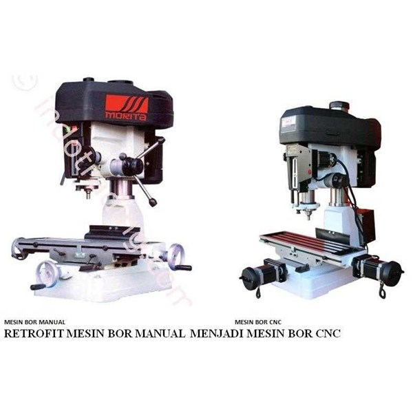 retrofit mesin bor manual