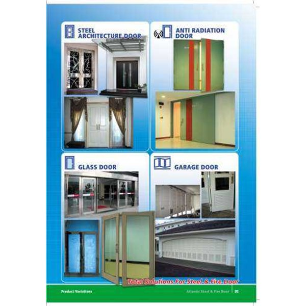 pintu plat/steel door/firedoor