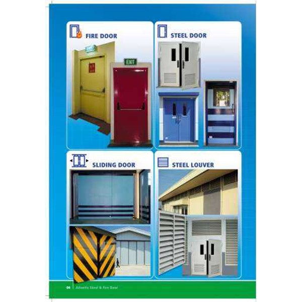 pintu plat/steel door/firedoor-1