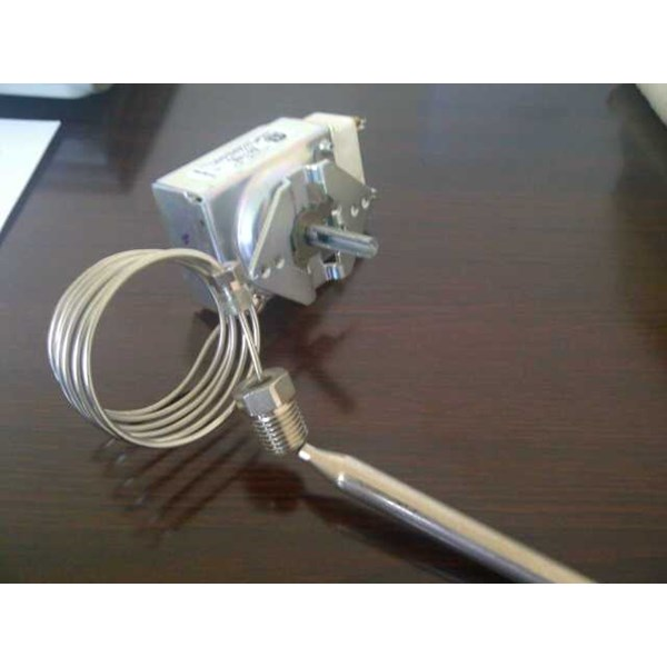 imperial deep fryer thermostat analog