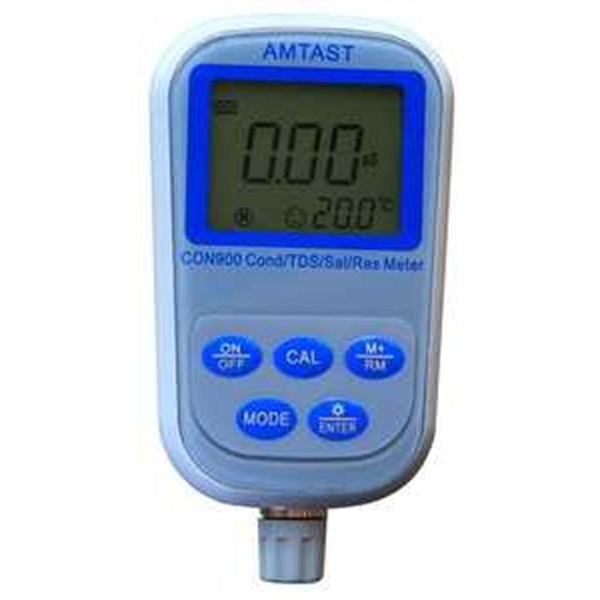 professional conductivity/ tds/ salinity/ resistivity meter con900-1