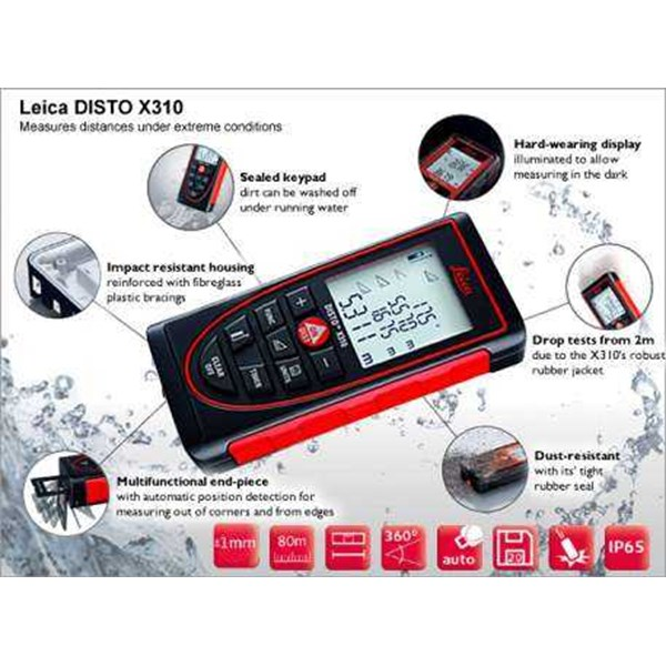 laser distancemeter leica disto x310