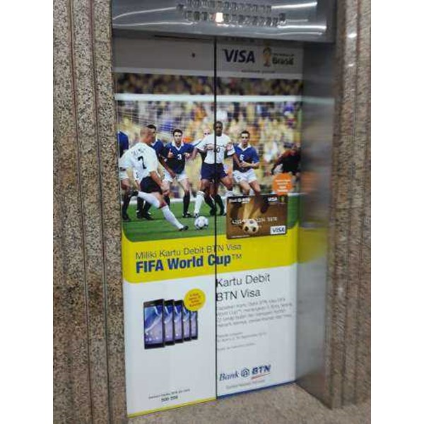 sticker lift btn debit visa fifa world cup