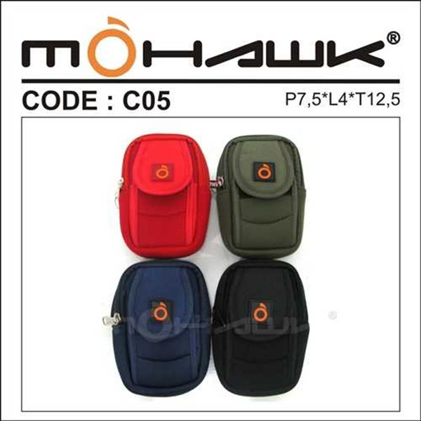 tas pinggang/pouch/dompet handphone pocket camera mohawk c-05