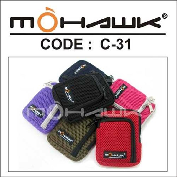 tas pinggang/pouch/dompet hanphone harddisk mohawk c-31