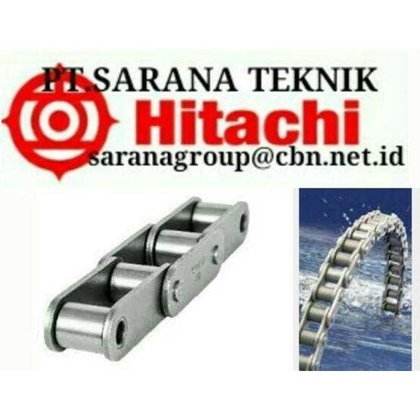hitachi roller chain pt sarana hitachi stainless piv roller chain ansi & standard hitachi roller chains with attacment-1