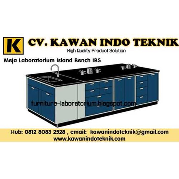 meja laboratorium island bench ibs