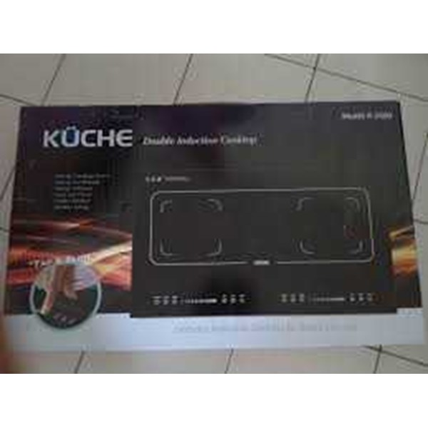 kuche induction cooker double stove cooktop k-2000-1