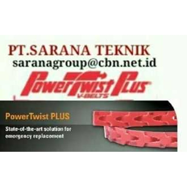 power twist belt plus stokist pt sarana teknik fenner drives power twist belt type a b z-1