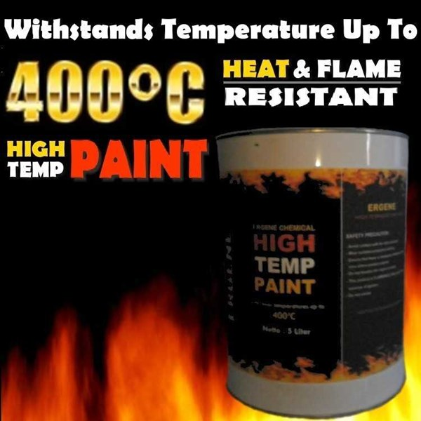 cat tahan panas 400 derajat - high temperature - heat resistant paint-1