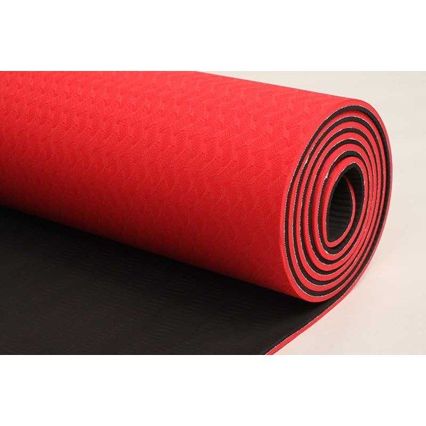 jual tpe yoga mat merah - unique yoga shop bali