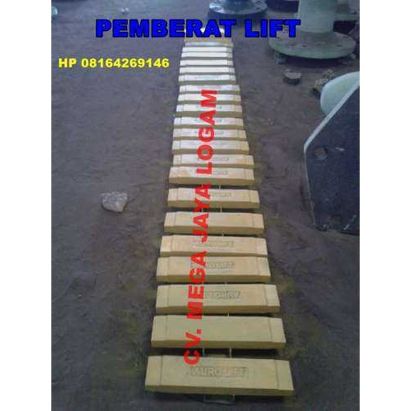 pemberat lift / counter weight / bandul lift-1