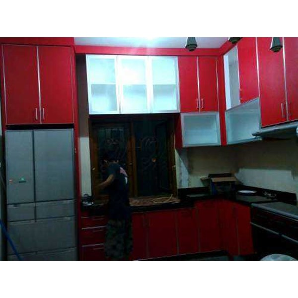 Jual Kitchen Set Murah Bintaro Panel Tv Almari Beaddrof