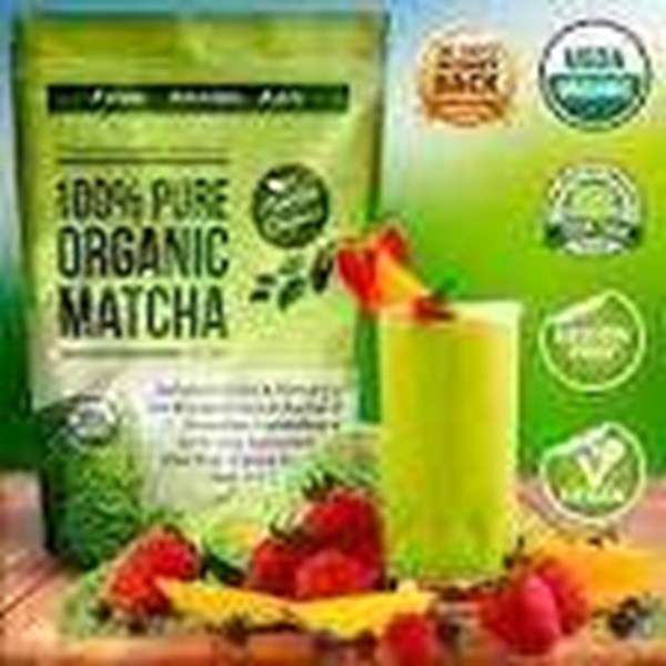 green tea matcha latte high l-theanine, rp. 150.000.-/ kotak / 180 gram.-1