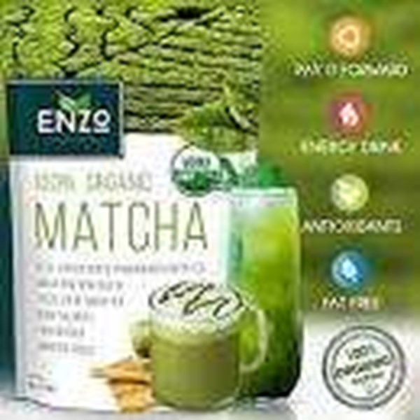 green tea matcha latte high l-theanine, rp. 150.000.-/ kotak / 180 gram.