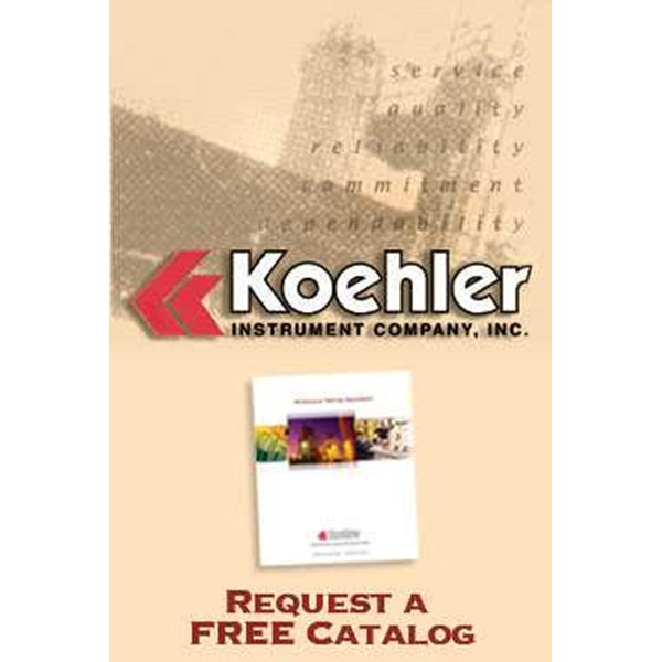 koehler k25525 soot levels in diesel engine oils, portable meter