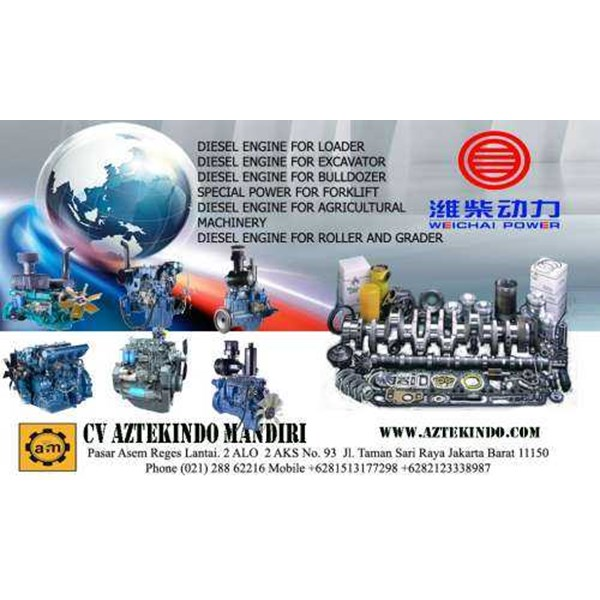 weichai diesel engine for loader, diesel engine for excavator, diesel engine for bulldozer, special power for forklift, diesel engine for agricultural machinery, diesel engine for roller and grader and bus