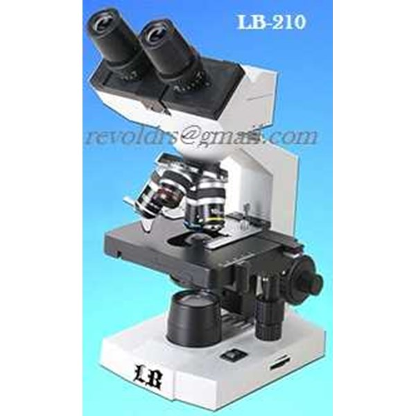 lb-210 biological binocular educational microscopes