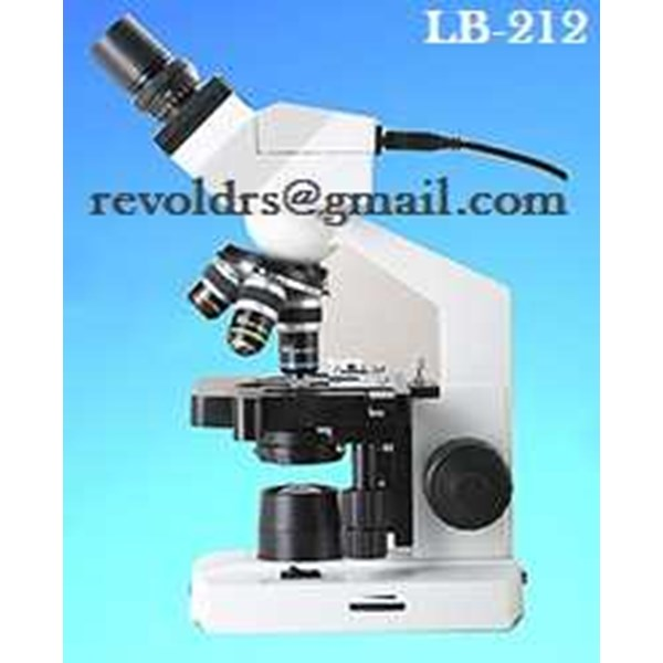 lb-212 binocular digital microscope 0812-12205508/07