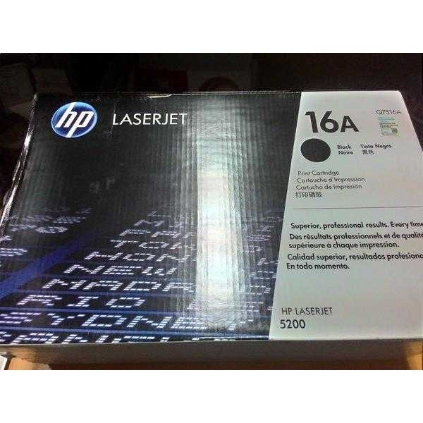 hp black toner 16a [ q7516a]