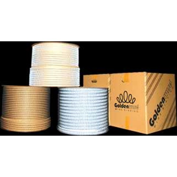 kawat spiral roll golden wire 7/16 putih-2