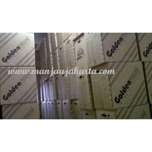 kawat spiral roll golden wire 7/16 putih